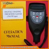 CLCm8856携帯用デジタルのコーティングの厚さゲージ