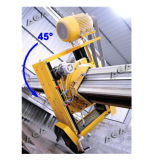 360度表の回転(HQ400/600/700)を用いる石造り橋打抜き機