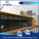 Camera del contenitore di montaggio della lamina di metallo di 40FT per i piccoli negozi della visualizzazione