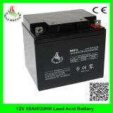 bateria de armazenamento acidificada ao chumbo recarregável do AGM Mf de 12V 38ah VRLA