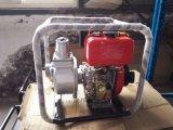 Bomba de agua de irrigación de la agricultura, bomba de agua del motor de gasolina