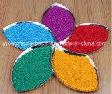 De hete Kleur Masterbatch van de Verkoop voor HDPE Fles van China