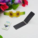 安いカスタムかわいいロゴの折るブックマークの磁石のPuzzel冷却装置磁石