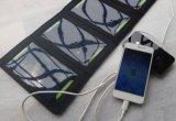 Chargeur solaire Portable Portable Sunpower de 7,5 V 7W