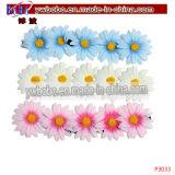 Fleur Scruchies Bijoux élastiques Bijoux Articles de fête de tissage de cheveux (P3041)