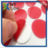 Red ronda los films de PET blanca espuma PE con acrílico cinta adhesiva