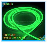 lumière de bande au néon ronde de 120V DEL avec la conformité de RoHS de la CE