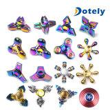 De kleurrijke Vorm van de Leidraad friemelt de Spinner van het Metaal AntistressStuk speelgoed