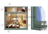 Profil d'aluminium de Windows de ceinture de la série Jlh-77