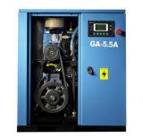 Equipos produciendo el compresor de aire tamaño pequeño del tornillo