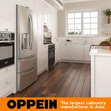 De traditionele Witte Houten Keukenkast van pvc (OP16-PVC05)