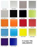 200X200mm dunkles Grau glasig-glänzende keramische Innenwand und Fußboden-Fliese