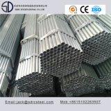 Parete sottile galvanizzata intorno al tubo d'acciaio per mobilia d'acciaio