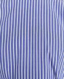 Camicia Leisurely della striscia del manicotto dei vestiti di modo della camicetta lunga casuale delle donne