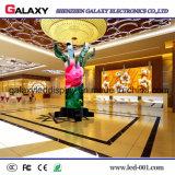 Schermo di visualizzazione dell'interno molle/flessibile/Bendable di P2.98/P3.91/P4.81/P5.95 del tondo fisso di /Circle del LED per la pubblicità/vie commerciali della decorazione, memorie, hotel