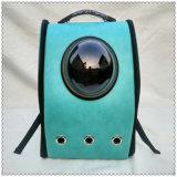 Curso portátil ao ar livre respirável dado forma do animal de estimação dos sacos do gato do saco do pacote do cão de animal de estimação da trouxa do portador do gato do animal de estimação da cápsula de espaço