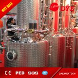 equipo de destilación todavía del alcohol 1000L de la destilería de cobre para hacer la vodka, whisky