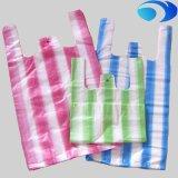 Мешок тенниски HDPE ясный пластичный с изготовленный на заказ печатание