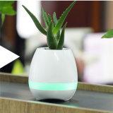BluetoothのスピーカーLEDの軽い音楽スマートな植木鉢