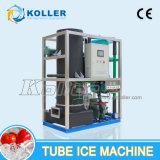 5000 kg / 24 horas Grado Alimenticio Máquina de hielo por un tubo diarias Usando