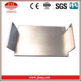Cornières en aluminium d'ingénierie de mur rideau avec le revêtement égal de mur de pattes