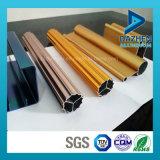 Profil en aluminium personnalisé d'alliage d'extrusion de longeron de piste de rideau