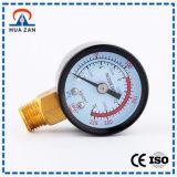 Fonctionnement manuel de manomètre de tube en U en acier de cas d'emballage d'Individal