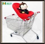180 Liter Supermarkt-Einkaufen-Laufkatze-mit weichem Baby-Sitz Mjy-180b-S