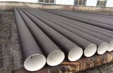 Tubo de acero inconsútil soldado espiral de la corrosión anti del API 5L para el gas
