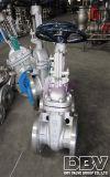 Rueda de mano industrial CF8 Brida Soft Seated Gate Valve