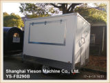 Ys-Fb290b Fiberglass Panel Mobile Restaurant Truck BBQ Trailers