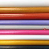 Bom couro do plutônio do elástico para as sapatas ou os sacos (HS-M038)