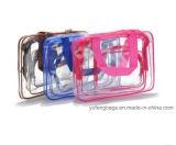 Sac neuf de lavage de mode de sac de course de type de sac de sacs de sacs de produit de beauté de package mobile de sac transparent de dames