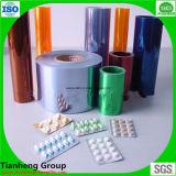 薬のカプセルのパッキングのためのプラスチック自然なPVC堅いフィルム