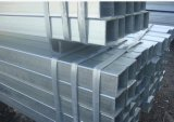 Pipe Q235 en acier carrée galvanisée plongée chaude