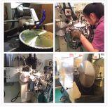 La circulaire inclinée de CTT de carbure de tungstène scie la lame/aluminium/bois/plastique/papier/découpage de cuivre