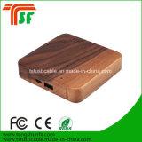 Frais de banque de puissance mobile en bois de haute qualité pour les téléphones