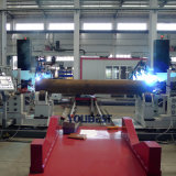 Estación de soldadura automático de múltiples funciones de tubería para la línea de producción