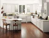 Hauptmöbel-Angebot-festes Holz-Küche-Schrank mit Granit-Marmor-Countertop-und Edelstahl-Wannen
