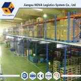 Bodenbelag-Lager-Stahlracking-Mezzanin von der Nova-Logistik