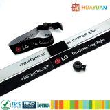 HUAYUAN NTAG213 Festival Fabric RFID Geweven Wristband voor Event