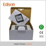 termostato della stanza di Fcu dello schermo di tocco dell'affissione a cristalli liquidi 220V