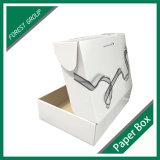 Contenitore bianco di scatola di stampa in offset di colore di alta qualità