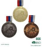 Дешевое изготовленный на заказ идущее медаль пожалования конкуренции с тесемкой