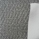 Сплетенная кожа PU пробочки Faux зерна для сандалии высоких пяток кренит Hx-S1738