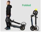 """""""trotinette"""" elétrico de alumínio da fibra urbana Foldable a mais clara do carbono"""