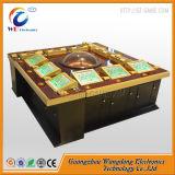 Máquina de jogo eletrônica da roleta de 12 jogadores no casino