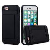 Крышка случая бумажника кредитной карточки Incipi Kickstand в случай телефона iPhone 7plus/I8/Note8