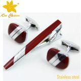 Tieclip-010 personalizado enfeitado com ouro esmalte macio China Fashion Slim Ties