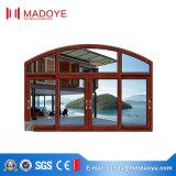 China-Fabrik-gute Qualitätsniedriger Preis-schiebendes Glasfenster für Spitzenlandhaus